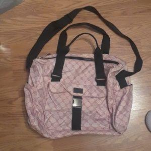 Polo ralph Lauren pink large duffel tote bag